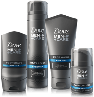 Work Biore facial care product for men